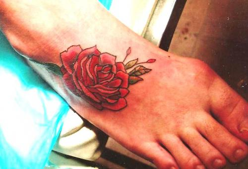 Flower Rose Feminine Tattoo - Ready Sense
