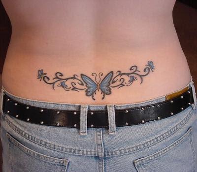 Free Tattoos Girl Butterfly Tattoo Design