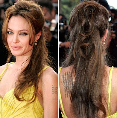 LIKES: --Singing --guitars --pianos. Top 6 sexy tattoos meaning of angelina