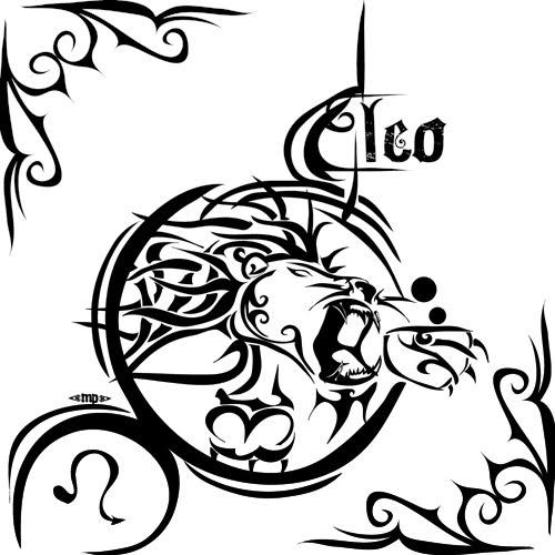 tattoo designs of zodiac signs leo