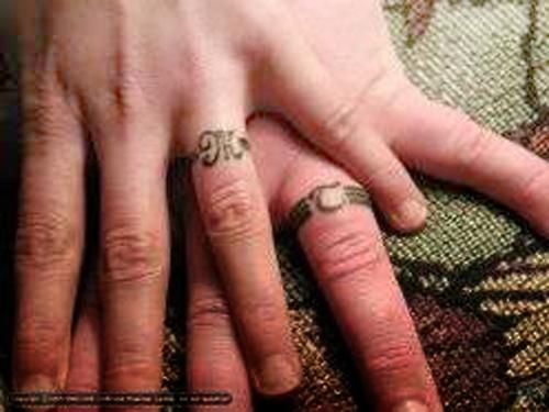 Best art wedding ring tattoo designs