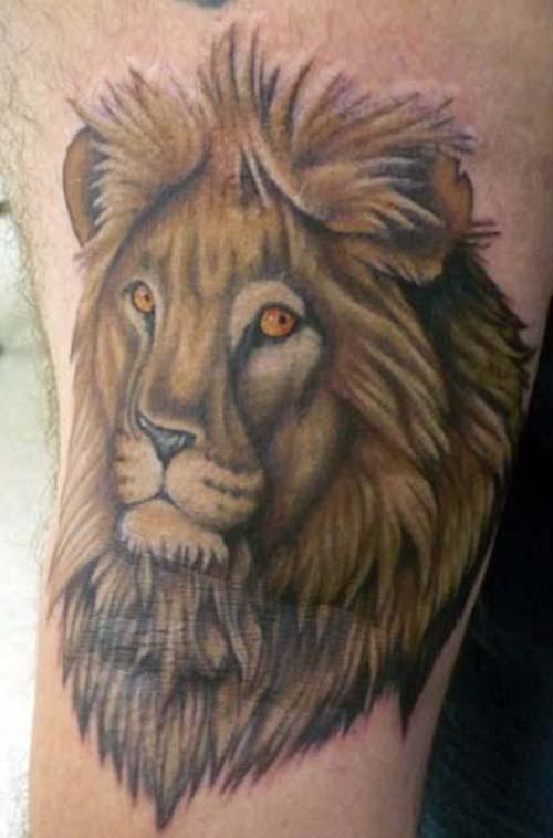 leo constellation tattoo