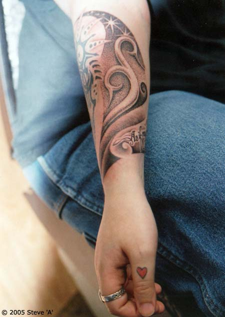 Forearm tattoo designs collection for Cool forearm tattoos