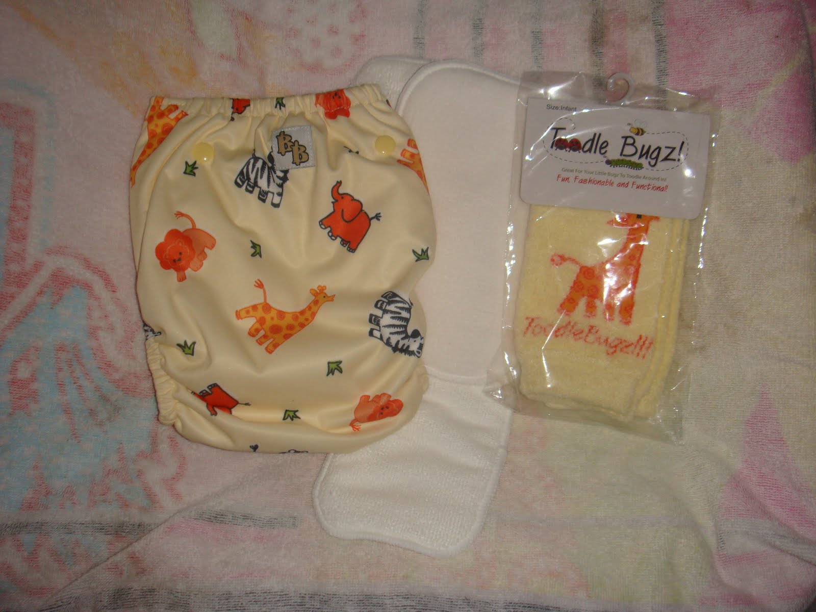 The maker of Fishnoodles diapers has created a new diaper line called Bright ...