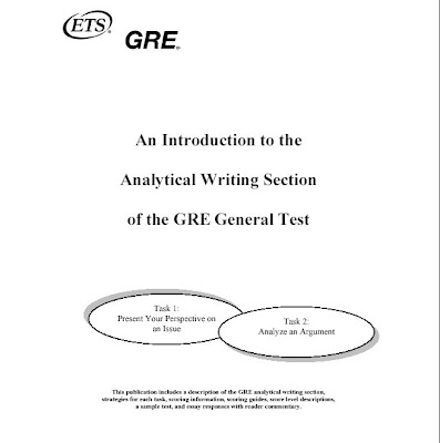 gre essay section Struggling to write an argument essay in awa (awa) also known as the gre essay section, is one of the three sections of the gre test this section measures your ability to form an opinion, articulate it effectively, and justify your position convincingly.