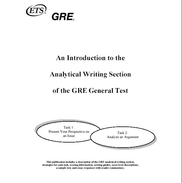 gre analytical writing scoring guide