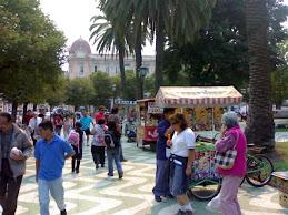 A pasos de La Plaza Victoria ....