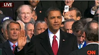 Obama's swearing in cermony