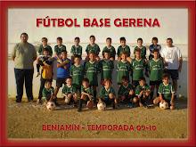 BENJAMIN FB GERENA 2009 - 2010