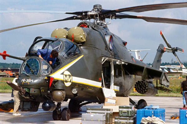 Russian Mi-35 Attack Helicopter - The Flying Tank - ASIAN ...