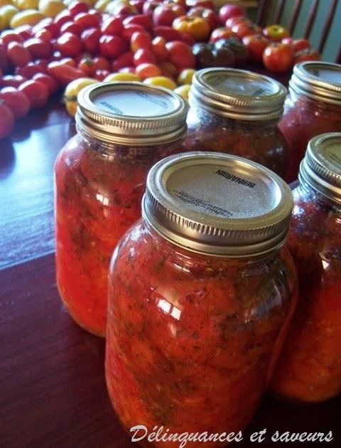 Recettes de conserves maison les tomates en d s en pots mason - Quand repiquer les tomates ...
