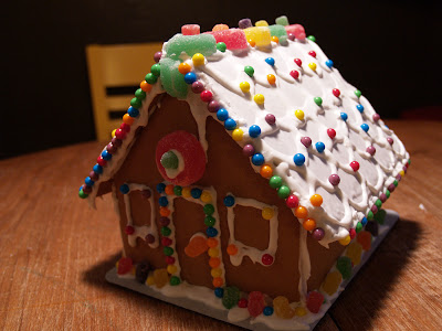 A Gingerbread House Kit! Just What I Always Wanted