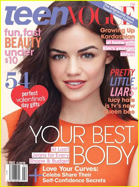 Fashion Whore: Pretty Little Liar..(Lucy Hale in Teen Vogue)