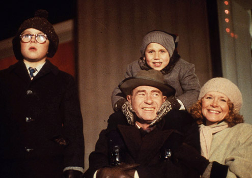 The parker family from quot a christmas story quot peter billingsley ralphie