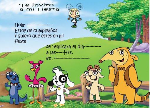 Doki y sus Amigos | Tarjetas de cumpleaños para imprimirTarjetas ...