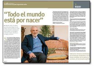 """El contactado Benjamín Solari Parravicini (el """"Nostradamus"""" argentino) Trigue"""