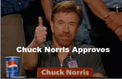 Hola, un gusto Chuck-norris-approves