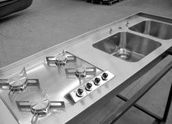 Cucine acciaio inox su misura