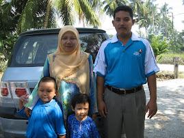 Inilah keluarga bahagiaku...