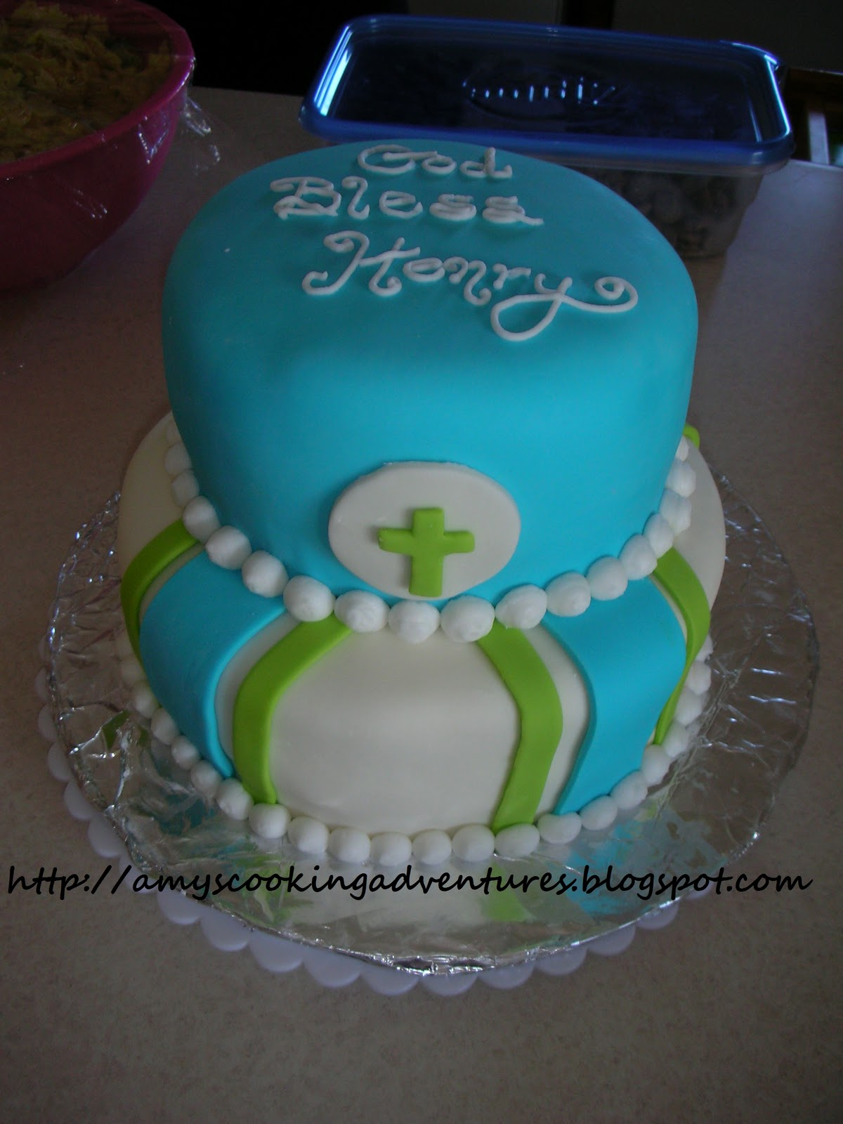 amy s confectionery adventures boy s baptism cake