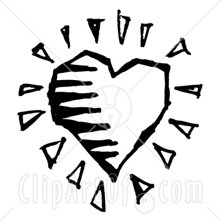 black-and-white-striped-heart-clipart. It is 2009, right?