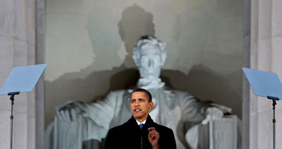 La simbologia de Lincoln en la investidura de Obama