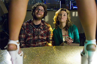 Elizabeth Banks and Seth Rogen