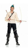 4Pc Robin Hood Men's Halloween Costume