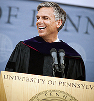 Jon Huntsman Jr. and UPenn