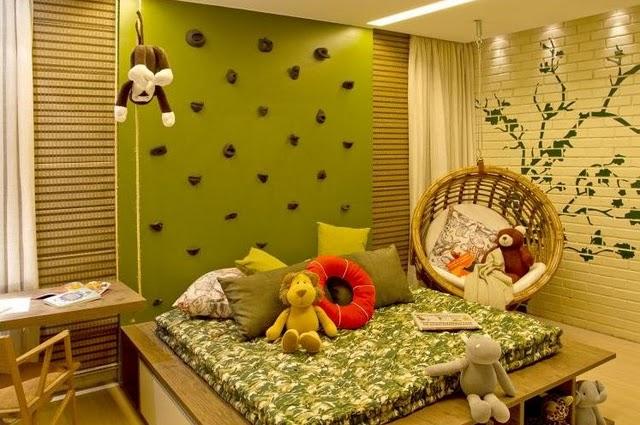 Arte e Decoração Decoração quarto meninos ~ Quarto Rustico Infantil