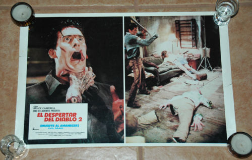 High quality reproduction Evil Dead poster Near Mint