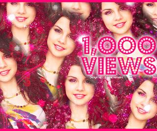 Selena Gomez 1,OOO Views blend no photofiltre studio