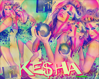 Ke$ha EMA blend no photofiltre studio