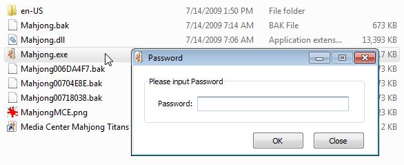 Masukkan password untuk membuka file yang diproteksi