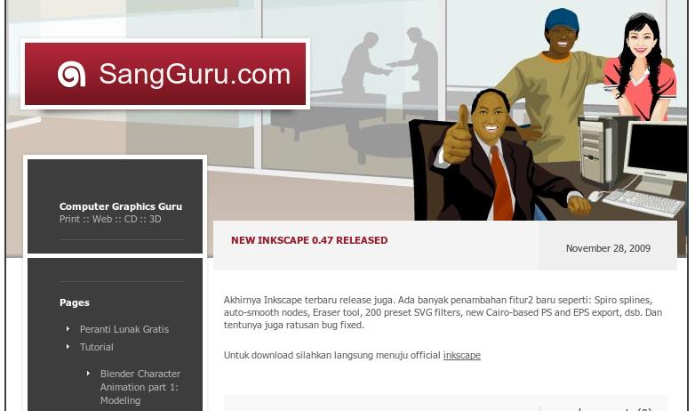Halaman muka SangGuru.com