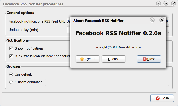 Facebook-rss-notifier
