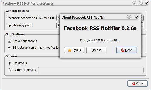 Facebook-rss-notifier