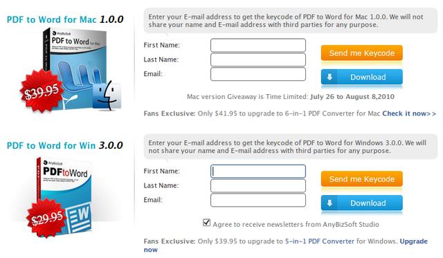 Lengkapi formulir dan klik kedua tombol di sebelahnya