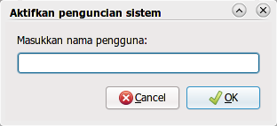 Kunci user tertentu