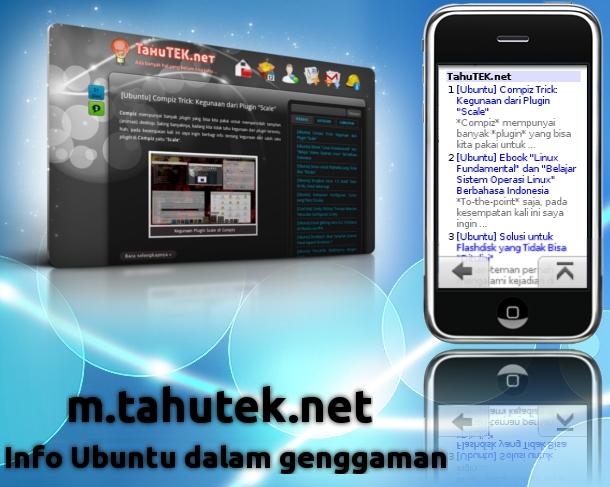 m.tahutek.net: Info Seputar Ubuntu dalam Genggaman