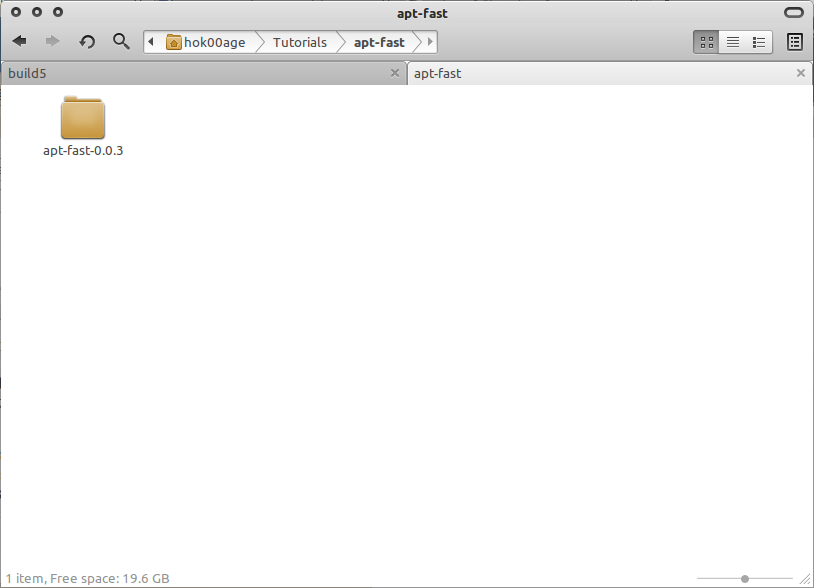 Folde yang telah dibuat (apt-fast-0.0.3)