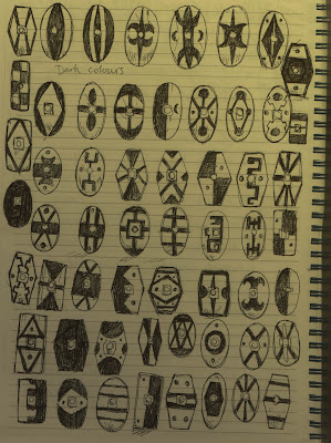Shield Designs for Celtic and Germanic units