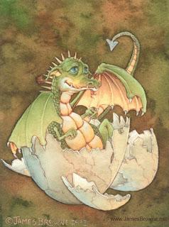 Nacimiento de un dragón