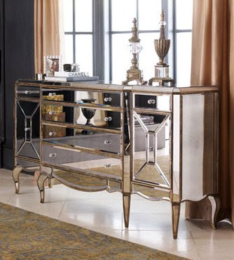Mirrored Furniture, Trendy or Here to Stay??