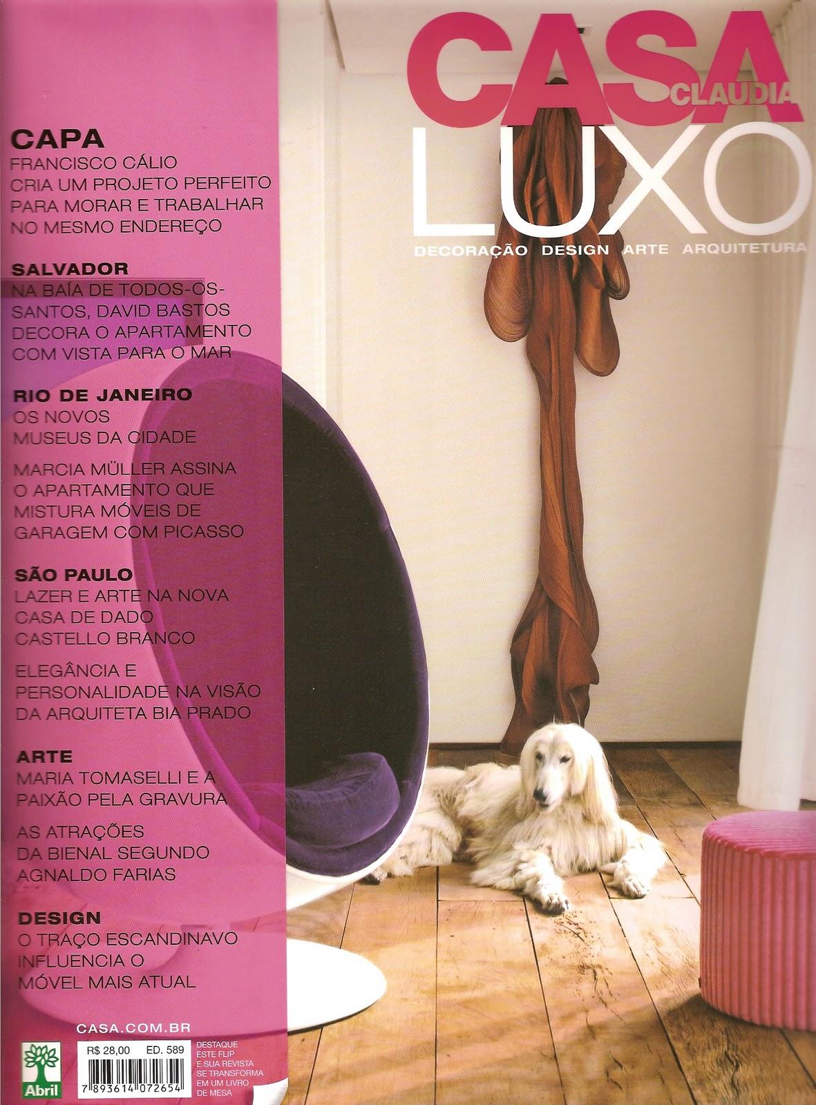 Casa claudia luxo 2010