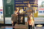 2007 BCS National Title Trophy