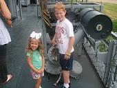 USS Kidd Deck