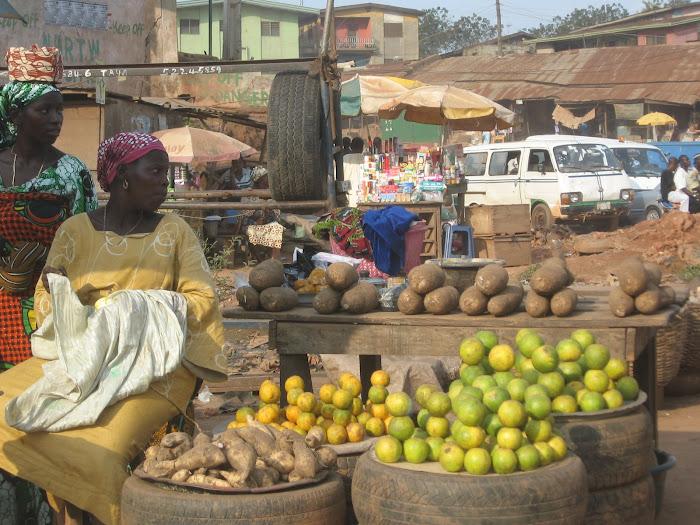Marketplace in Ibadan, Nigeria