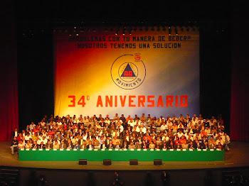 35 Aniversario del Movimiento 24 Horas.