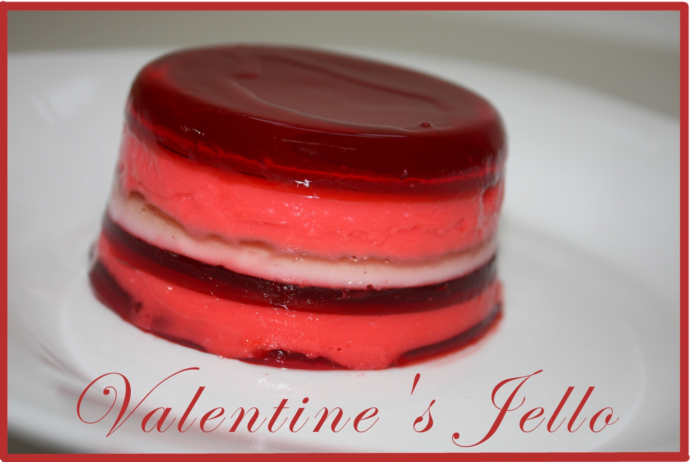 Everyday Art: Valentine's Rainbow Jello